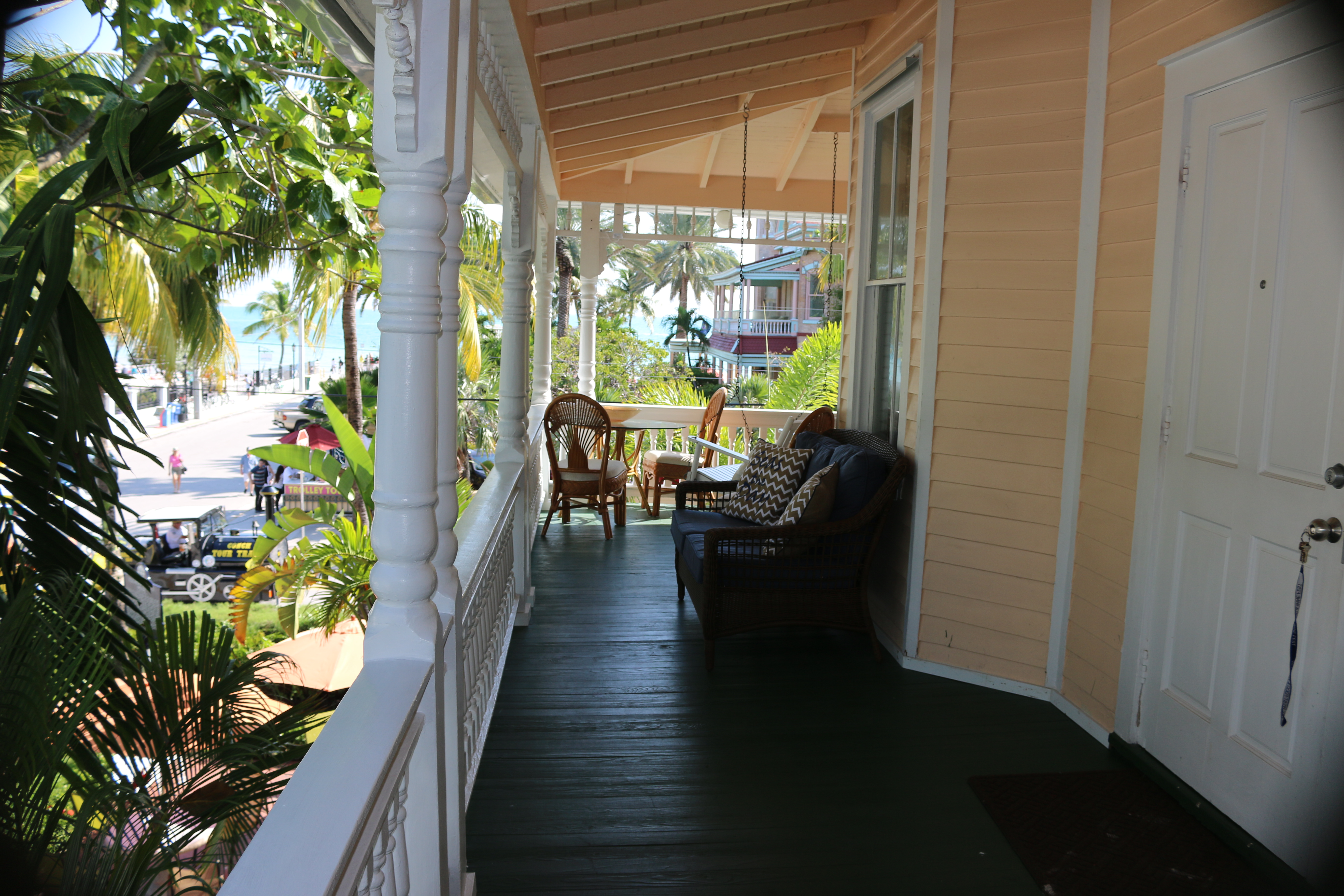 Southernmost Point Guest House Balcony View Southernmost