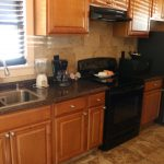 Kitchen at at the Southernmost Point Guesthouse