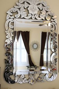Mirror in the Orchid King Room