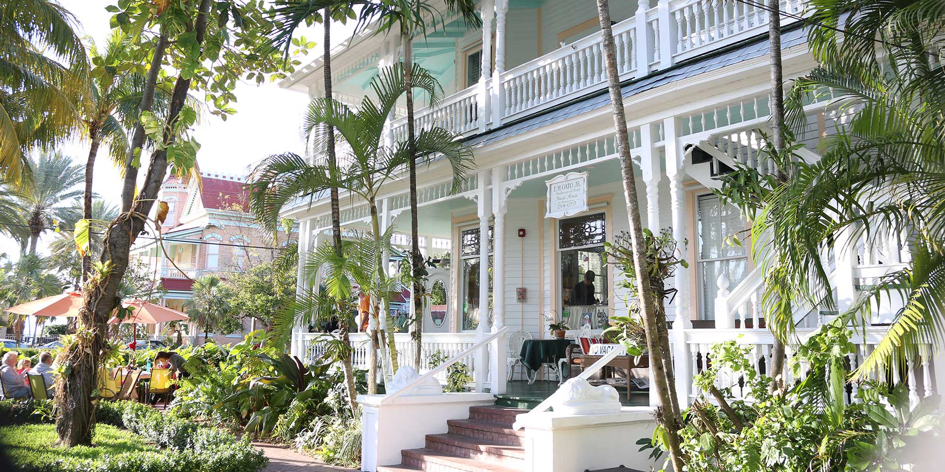 Angle of Front of Southernmost Point Guesthouse