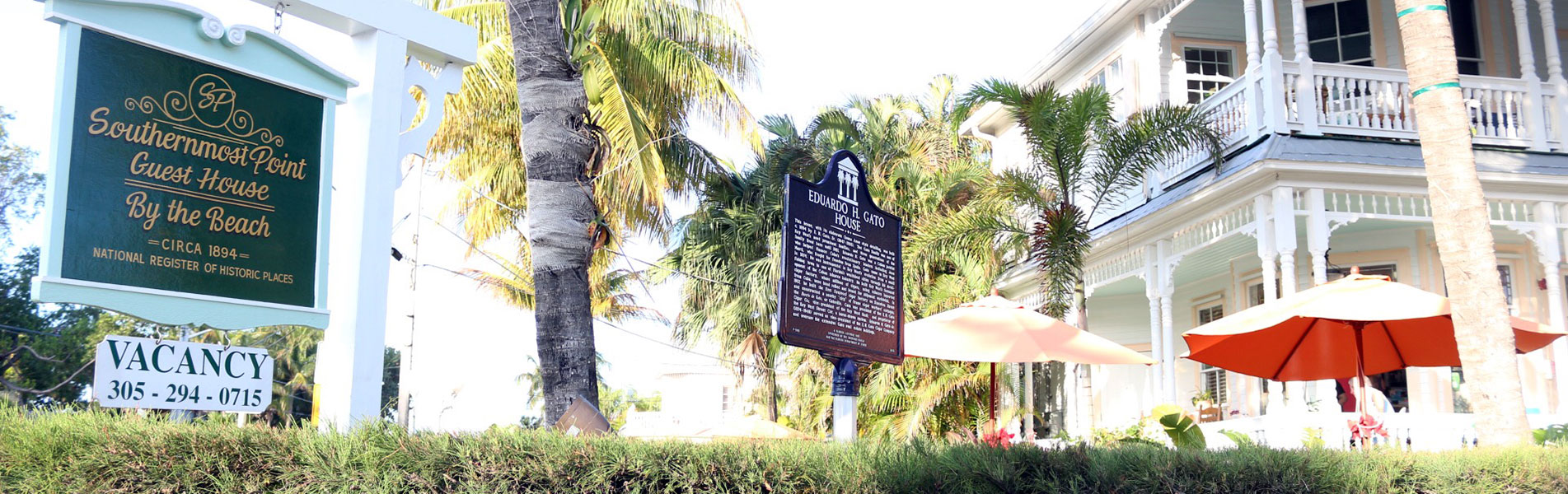 Welcome to the Southernmost Point Guest House