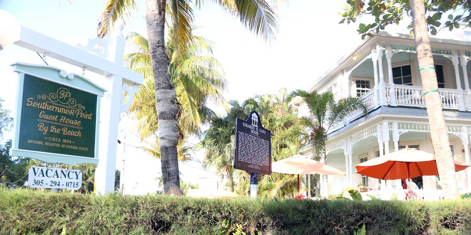 Southernmost Point Guesthouse by the beach